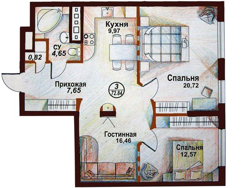 Ремонт в квартире нужно начинать с составления подробного плана