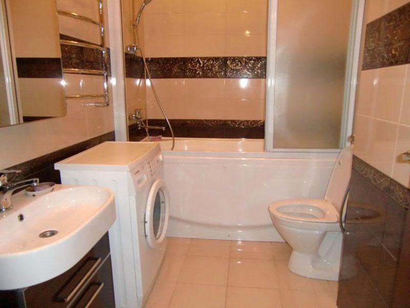 Фото ванной комнаты и туалета после ремонта под ключ