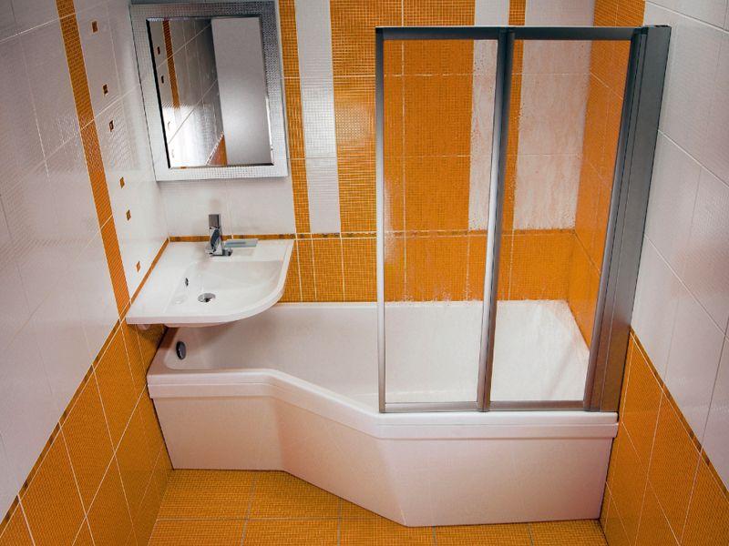 Ванная комната в квартире советской планировки