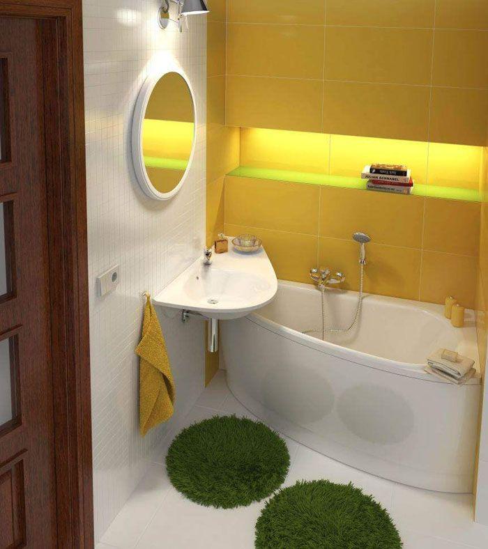 Даже маленькую ванную комнату можно сделать стильной и функциональной