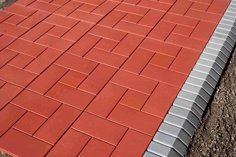 Колеровка позволяет придать тротуарной плитке желаемый цвет