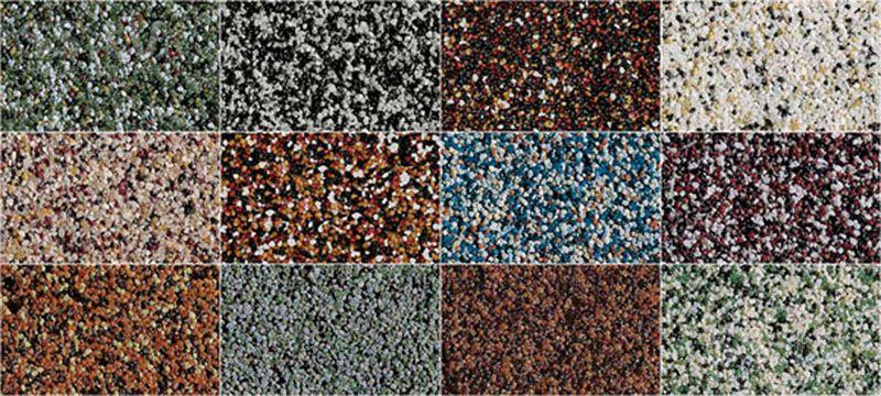 Разновидности декоративной силиконовой штукатурки