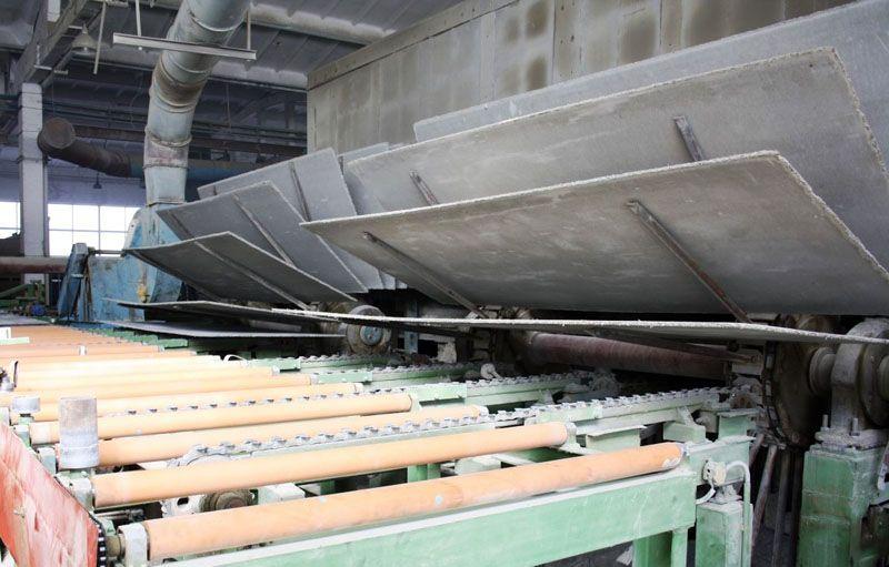 Процесс создания цементно-стружечных плит
