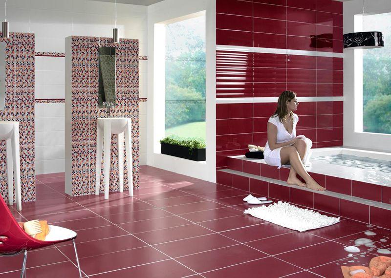 Фото красивой ванной комнаты в крупногабаритной квартире