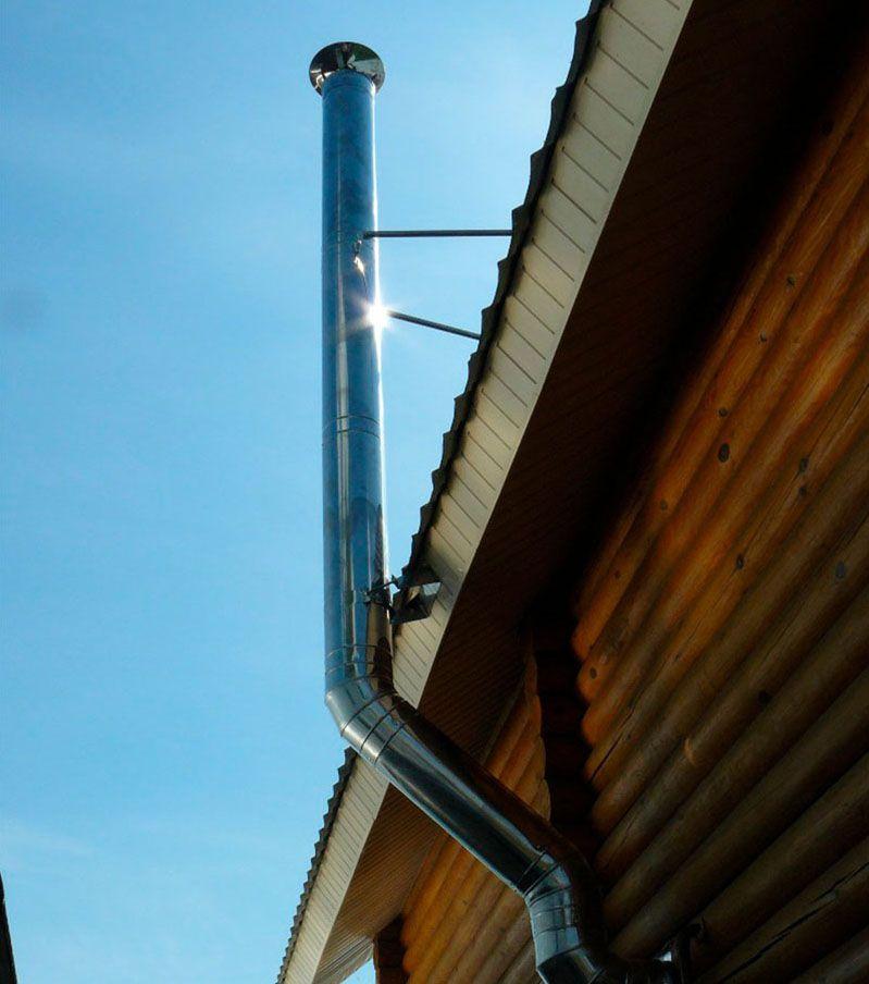 Стабилизируем процесс горения — коаксиальный дымоход для газового котла: варианты использования и назначение