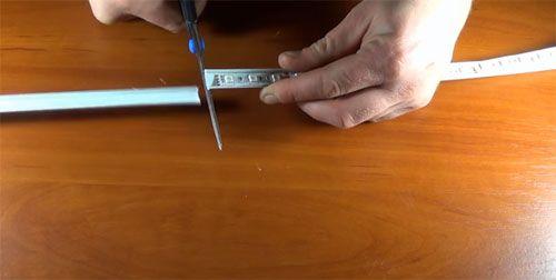 Монтируем систему освещения, или Зачем нужен профиль для светодиодной ленты