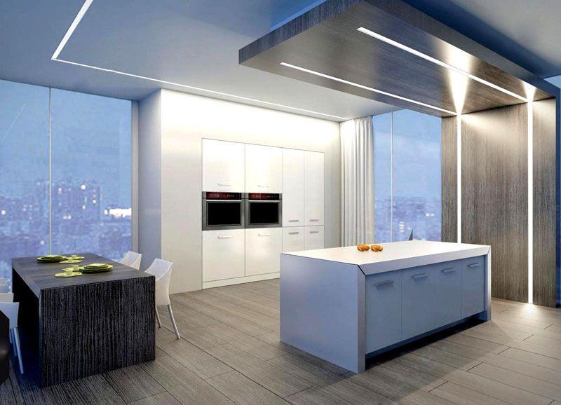 Могут быть реализованы самые сложные проекты по освещению дома