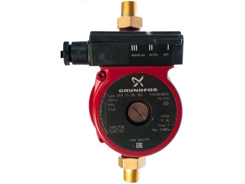 Grundfos 15-90 – качественная дорогая модель