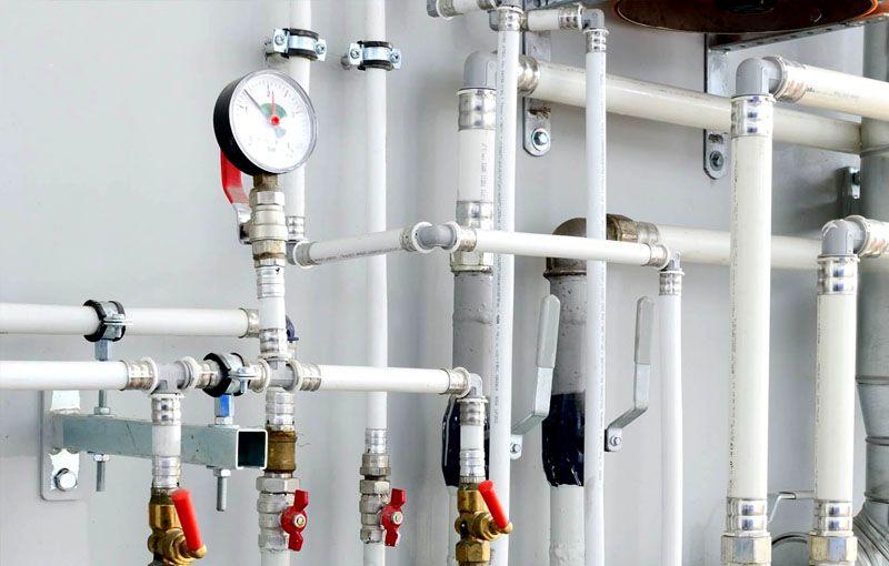 Водопровод рассчитан на определённое давление