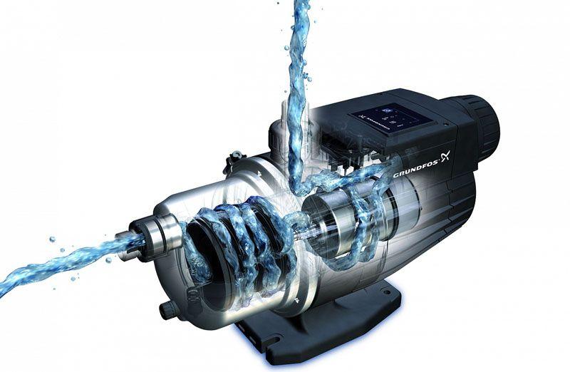 Конструкции с мокрым ротором создают мало шума в процессе работы