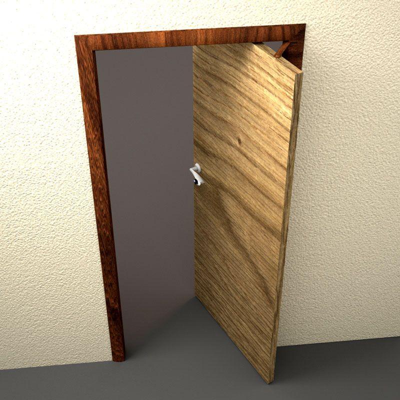 Рото-двери открываются в обоих направлениях
