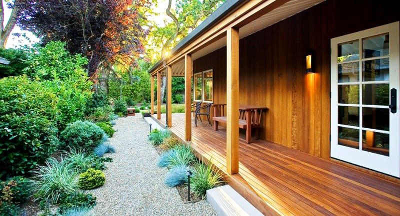 Террасы и веранды к дому: фото, проекты, декорирование и рекомендации