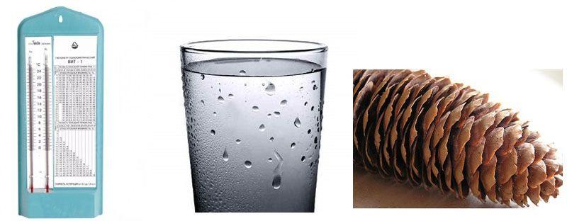 Основные средства для самостоятельного измерения уровня влажности