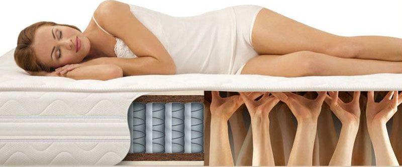 От конструкции матраса во многом зависит комфортность отдыха