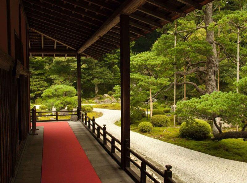 Терраса в японском стиле