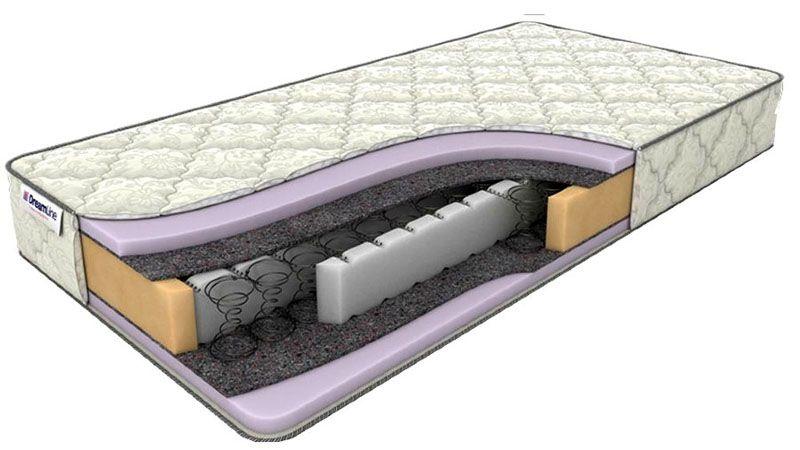 Комбинированная конструкция ортопедического матраса