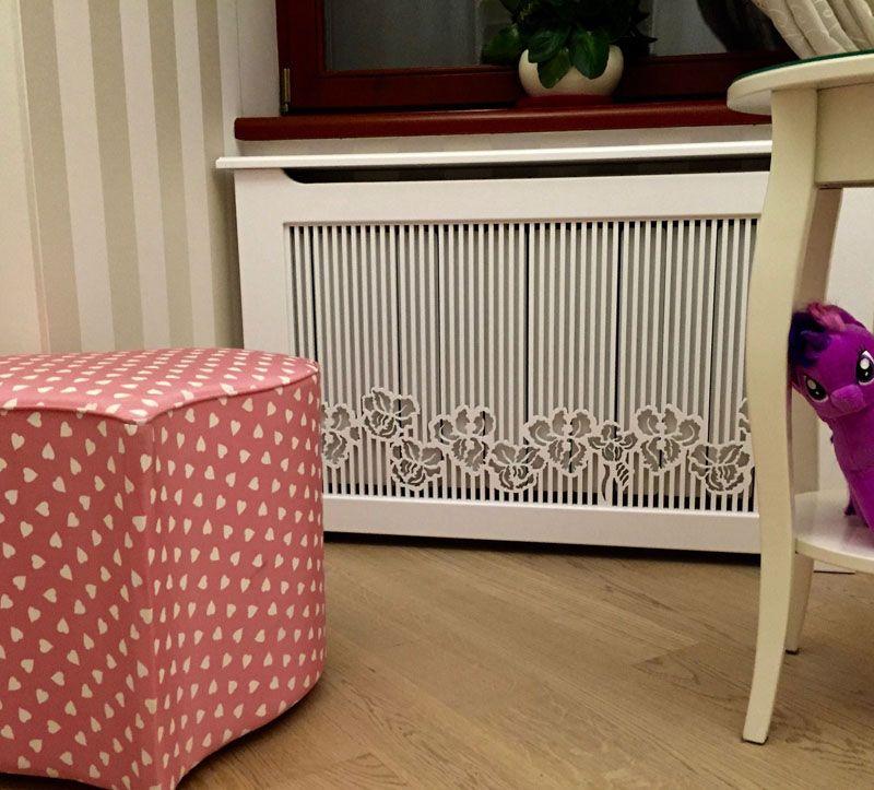 Безопасная частота реек для установки экрана в детской комнате