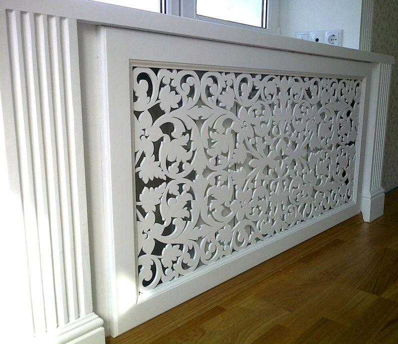 Резной фасад для классического интерьера