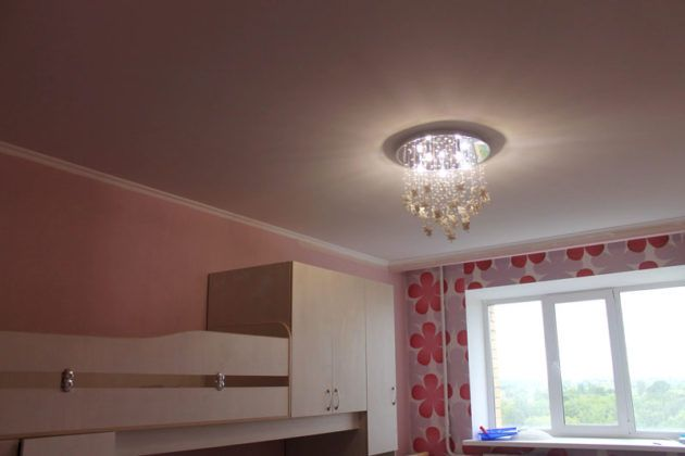 Натяжные потолки: фото и основные преимущества разных видов полотен