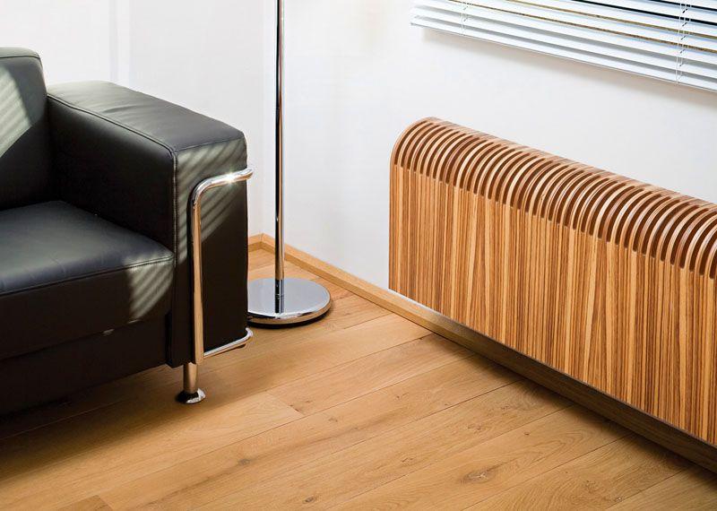 Современная модель декоративной решетки с имитацией натуральной древесины