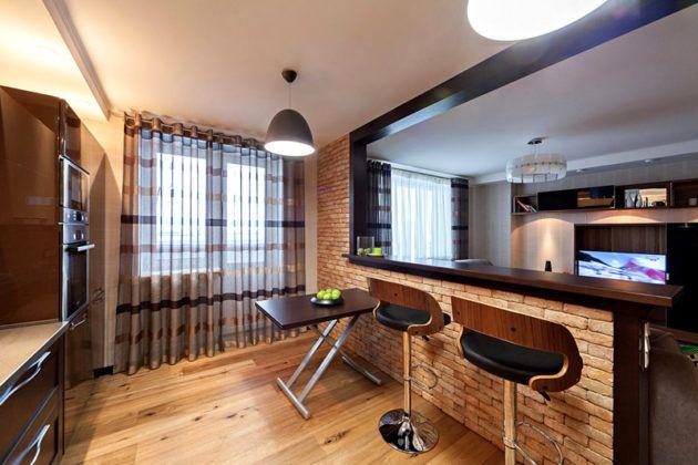 Ремонт однокомнатной квартиры: фото интерьеров и рекомендации по организации пространства