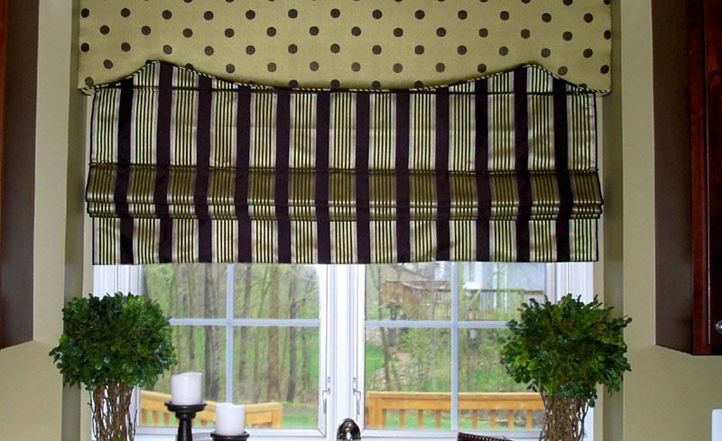 С таким устройством римские шторы можно изготовить собственноручно из материала, который вам нравится