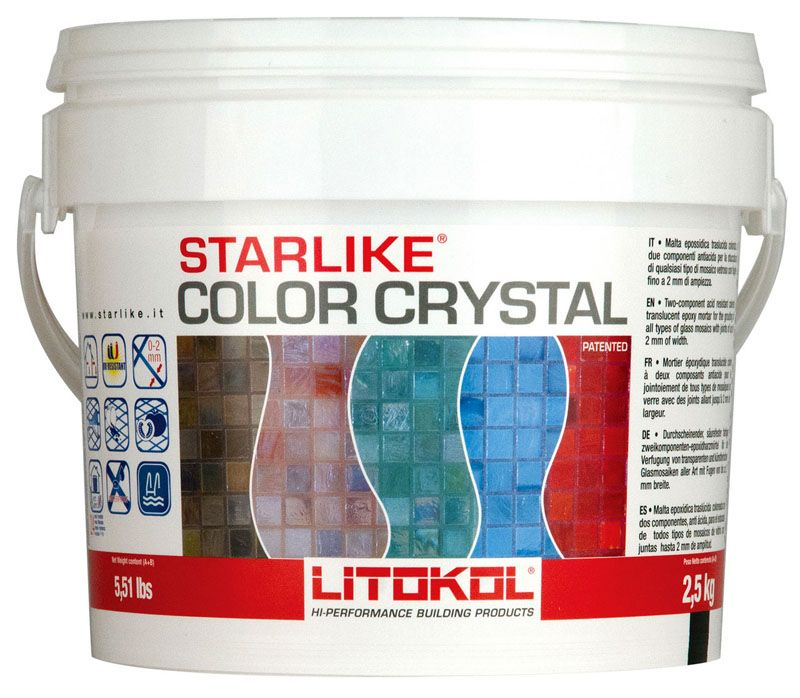 Starlike Color Crystalот Litokol