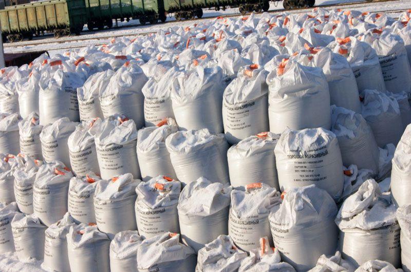 Абразивы для пескоструйного аппарата продаются в упаковках от 20 кг