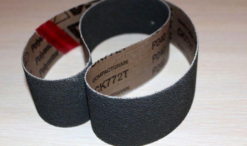 Абразивная лента для гриндера − важнейшая деталь любой шлифовальной машины