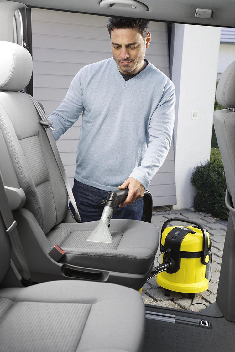 Автомобиль можно чистить самому