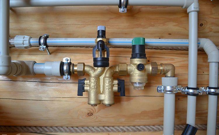 Система холодного водоснабжения