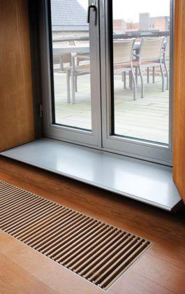 Полезный сквозняк: как правильно выбрать и установить вентиляционные решётки для подоконников