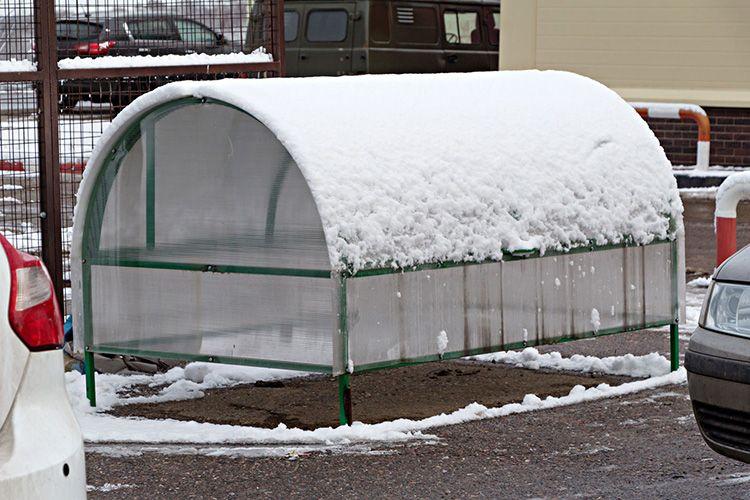 Каркас должен выдерживать снег