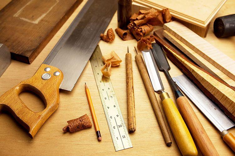 Инструмент следует подготовить до начала работ