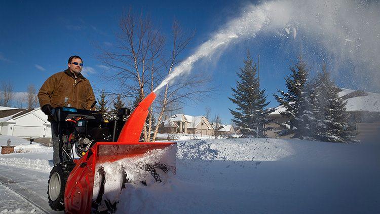 Тяжёлые снегоуборщики высокопроизводительны