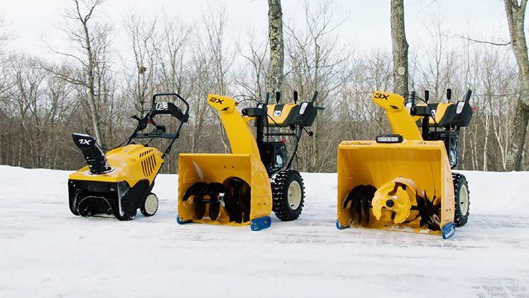 Система забора снега может иметь различное исполнение