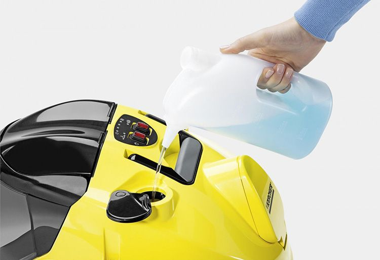 Ёмкость бака влияет на длительность уборки