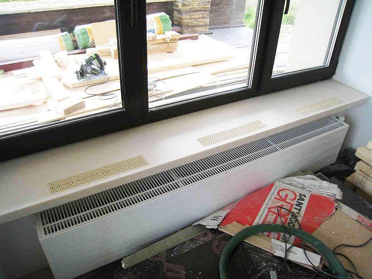 Длина решётки и радиатора должны соотноситься