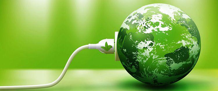 Зелёная энергия спасёт наш мир
