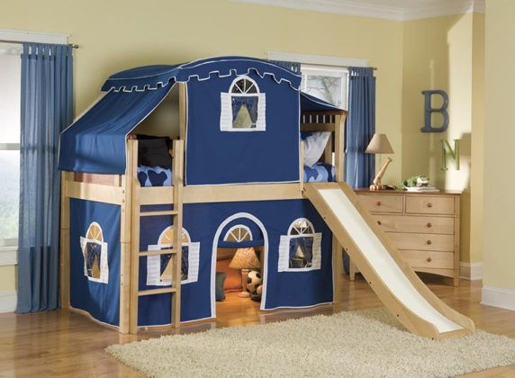 Двухъярусная кровать с диваном: особенности, конструкции, критерии выбора
