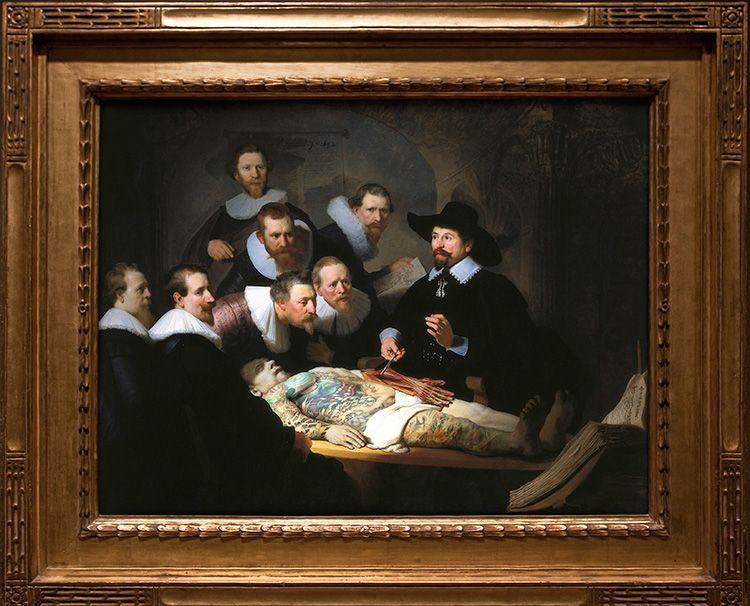 Такая копия известного полотна станет достойным украшением кабинета в классическом стиле