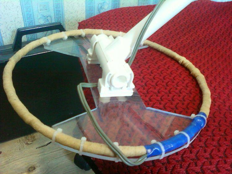 Самодельная катушка для металлодетектора «Пират»
