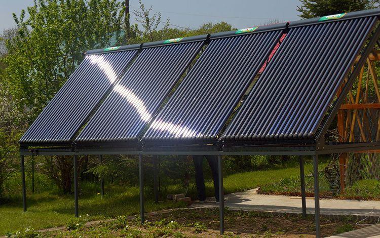 Пример устройства альтернативной энергетики для дома, созданного своими руками