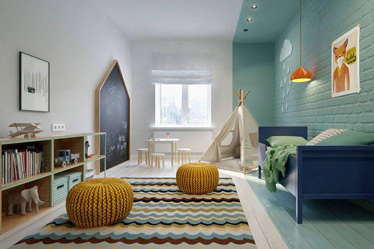 Детская комната должна быть светлой и просторной