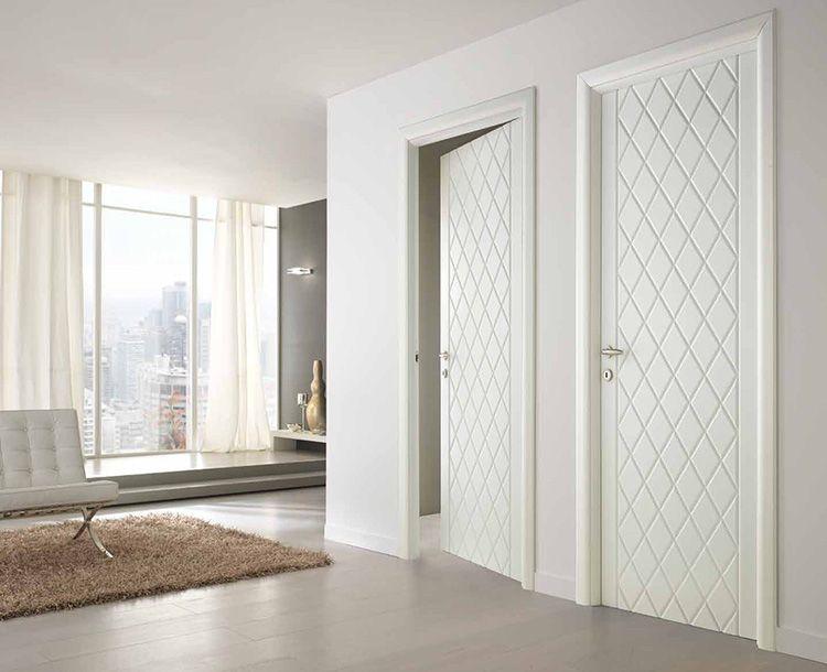 Белые двери должны сочетаться с общей обстановкой