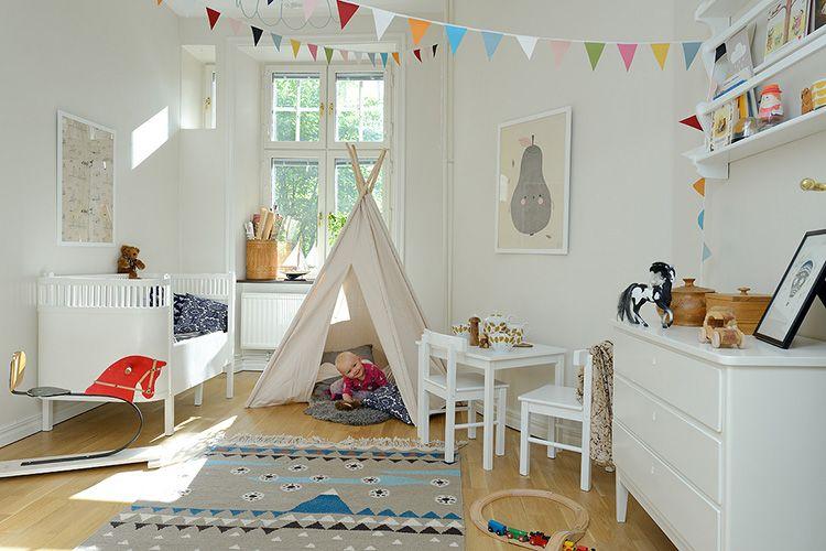 В детской комнате всё должно быть из экологически чистых материалов