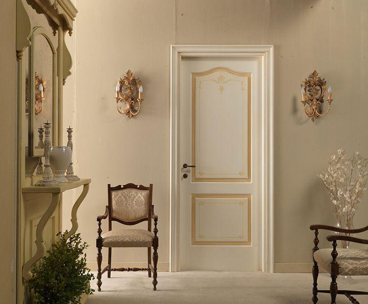 Купить межкомнатные двери «белая эмаль» с патиной – удачное решение для классических интерьеров