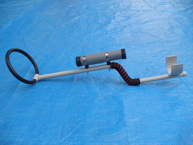 Простой металлоискатель, своими руками переоборудованный в глубинный