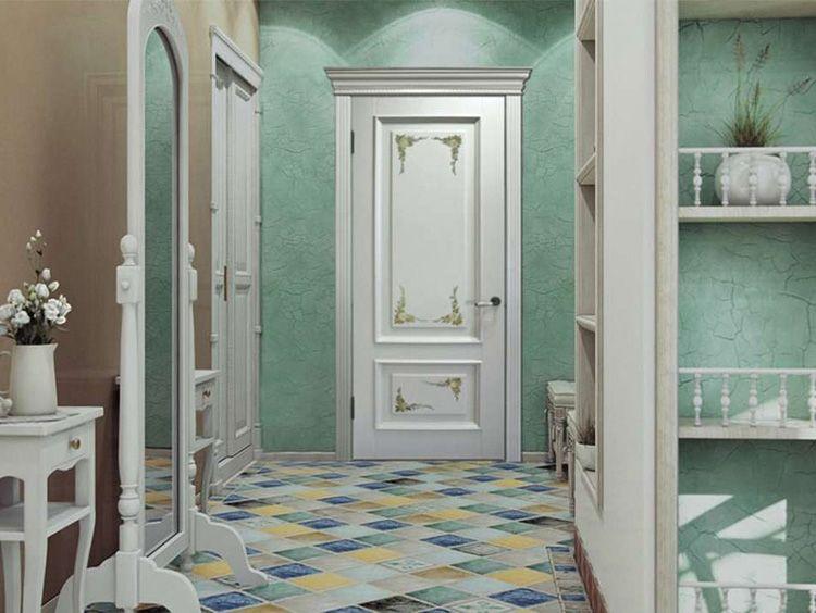 Белые двери для интерьера «прованс»