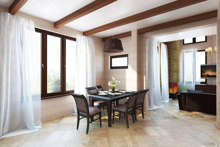 В домах в скандинавском стиле всегда просторно и светло
